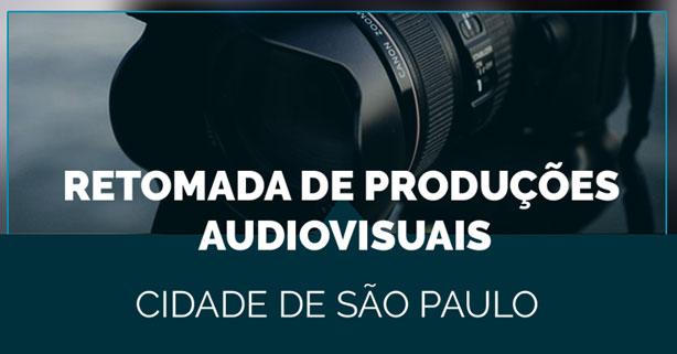 Retomada das produções audiovisuais